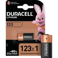 Lithium battery DURACELL CR123 | 123 | CR123A | CR17345 | 3V