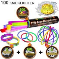 100 arm glow sticks