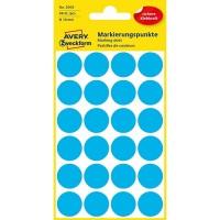 Self-adhesive Marking Dots 18 mm / Blue / 96 pcs.