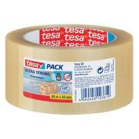 TESA 4124 PVC Ultra Strong tape / 50mm x 66m / Transparent